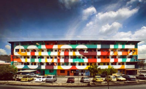 Boamistura, Panama City, Somos Luz, We are Light, Street Art, Community