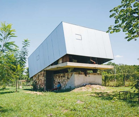 Caja Oscura (camera obscura) by Javier Corvalan in Paraguay, original and contemporary architecture