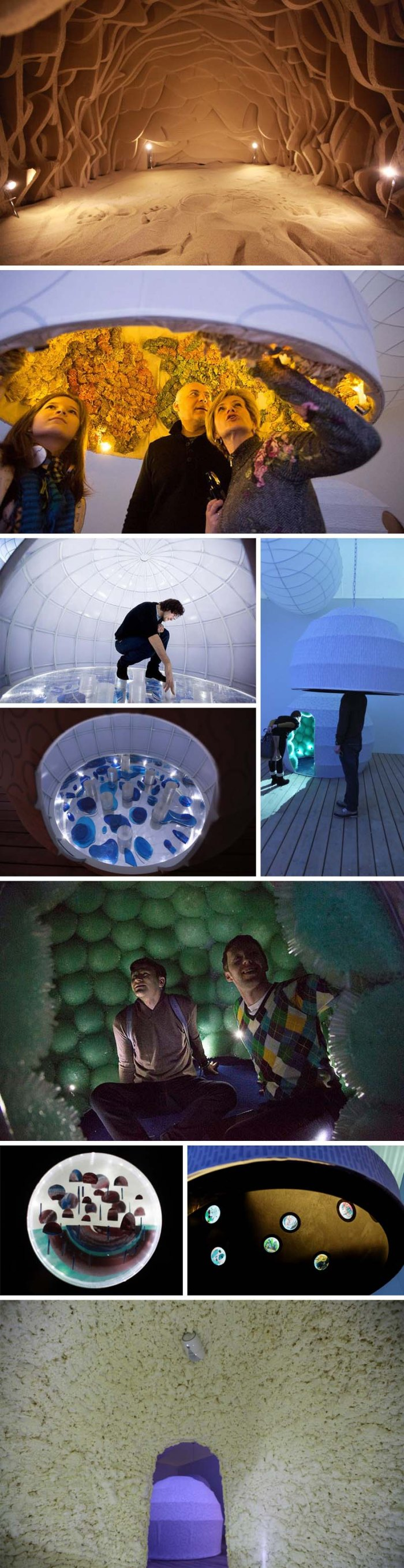 Danielle Tay, Installation Art, Pods, Garage Center for Contemporary Culture, immersive art, cool environments