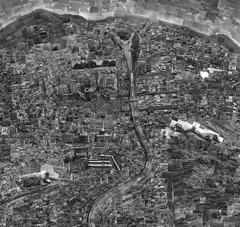 Diorama Maps, photo collaged maps by Japanese artist Sohei Nishino. Fantastically intricate and beautiful maps based on his own journeys through the cities and memory