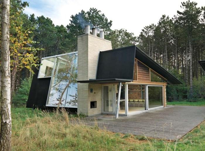 Jesper Brask, Hald Strand Summerhouse in North Zealand, Denmark