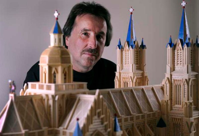 MAtchstick constructions, Paul Marti, matchstick art, constructions made of matchsticks