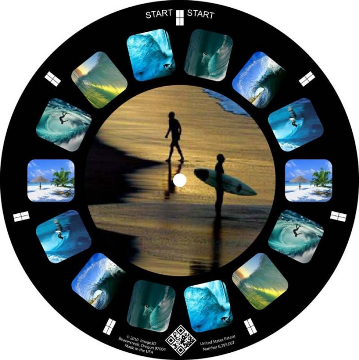 Image 3D, Personal View-Master Reel builder, Personalized view-master reels, fun gift, promo idea
