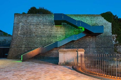 staircase, lighting, royal-william-yard-by-gillespie-yunnie-architects