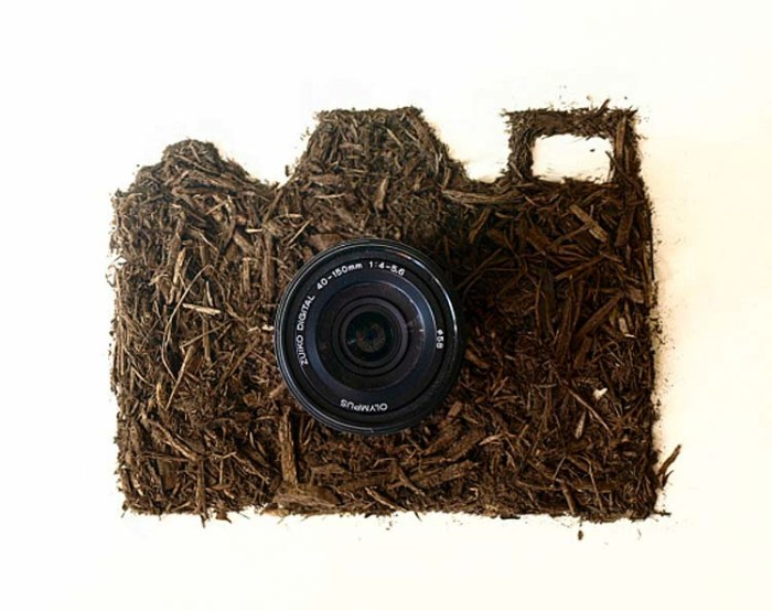Sarah Rosado, Dirty Little Secrets, Illustrations made with dirt and photographed