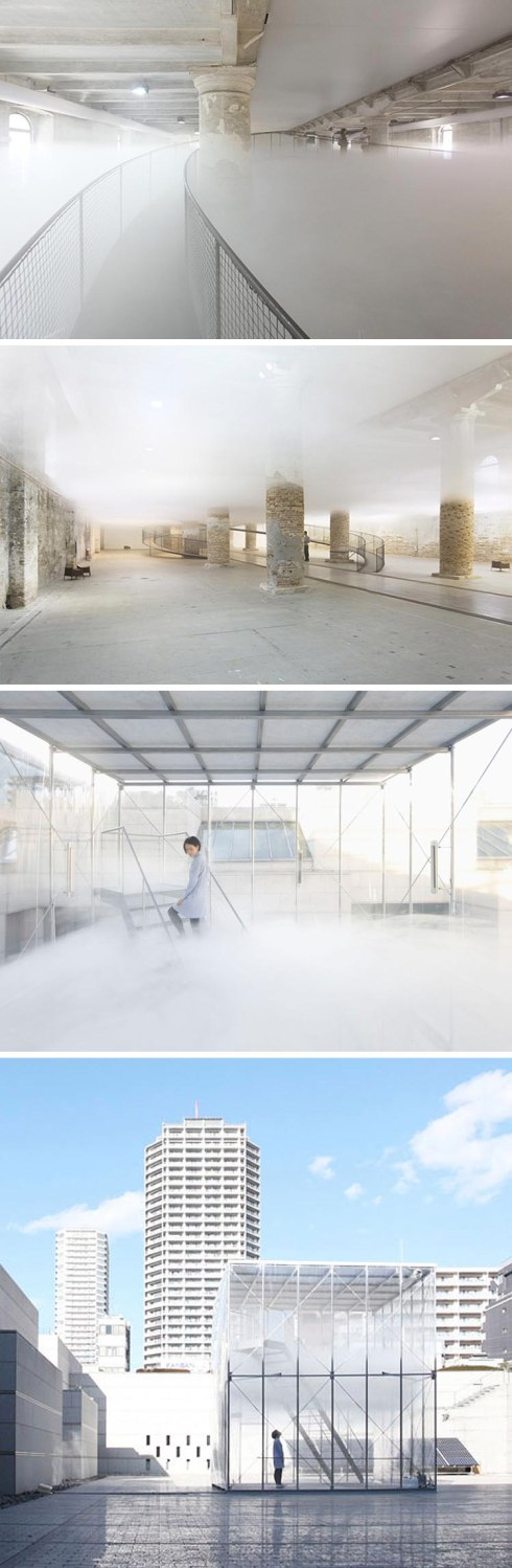 Tetsuo Kondo, Transsolar, Cloudscapes, cool installations with contained cloudlike formations, contemporary art, Museum of Contemporary Art Tokyo, Venice Biennale