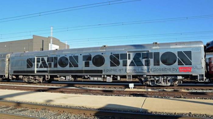 Station to Station, Doug Aitken's Nomadic Art Happening; Carsten Holler, Urs Fischer, Kenneth Anger, Ernesto Neto, Yurts, Ariel Pink, No-Age