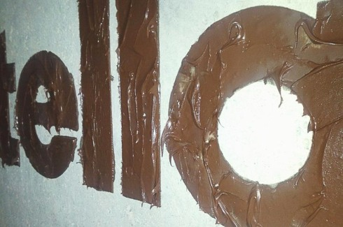 Pro Bono Promo, Dorota Pankowska, Street art Logos created from the product they represent, dori the giant, typography