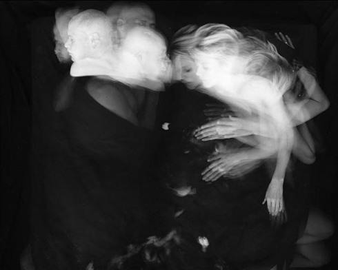 The Sleep of the Beloved, long exposure photos of sleeping couples, Paul Schneggenburger