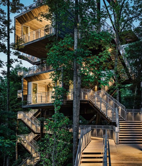 sustainability Treehouse for the Boy Scouts of America; Mithun ARchitects