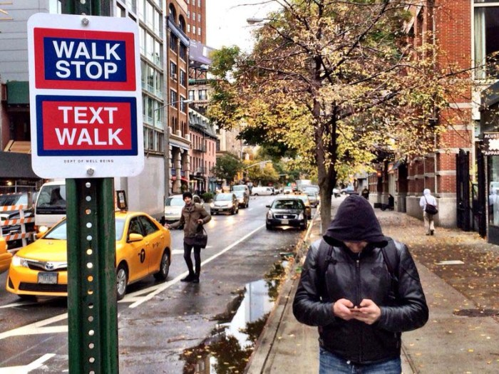 Happy Signs, Killy Kilford, Department of Well Being, Dept of Well Being, Street Art that makes people smile, NYC