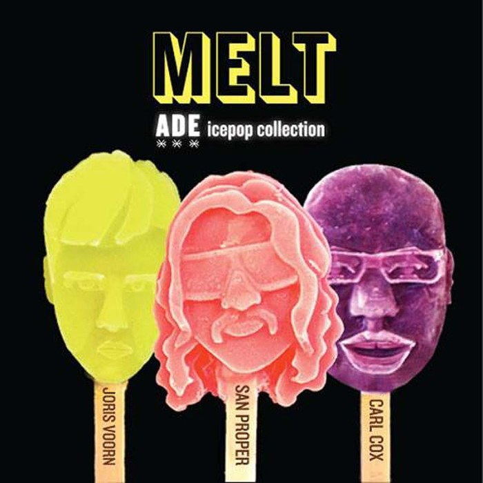 Icepop Generator concept by MELT. 3D printed icepops. Self-portrait icepops