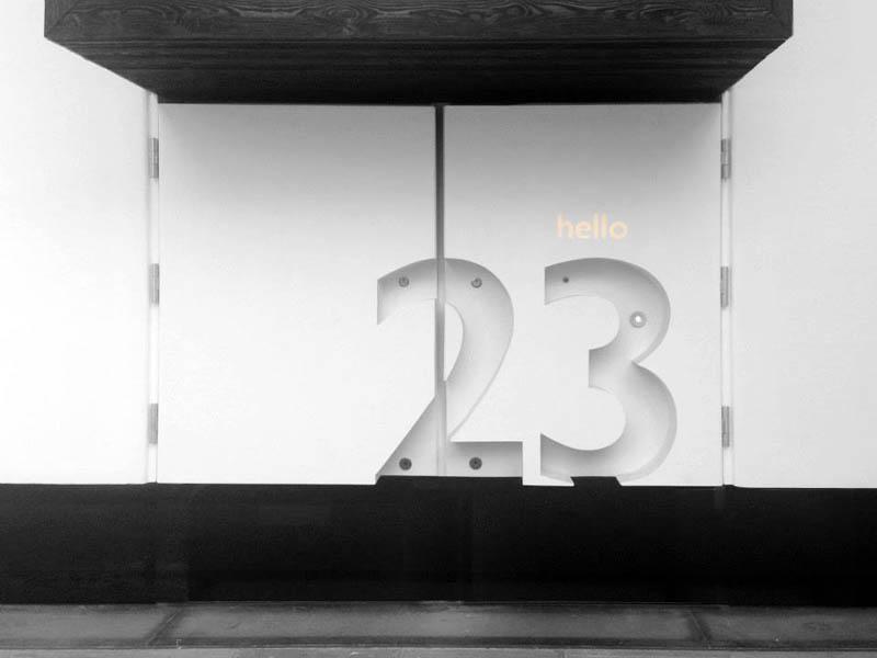 Number 23 Matt Architecture Collabcubed