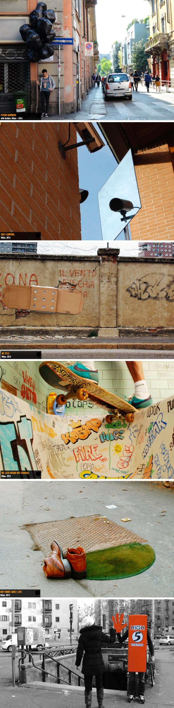 Fra Biancoshock Ephermeral Experiences, Italian Street art