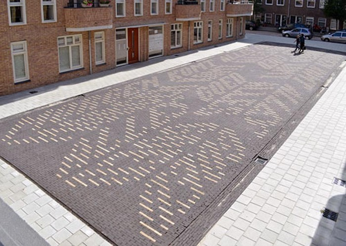 type messages hidden in architecture by Martijn Sandberg, Typography, Architecture, Cool