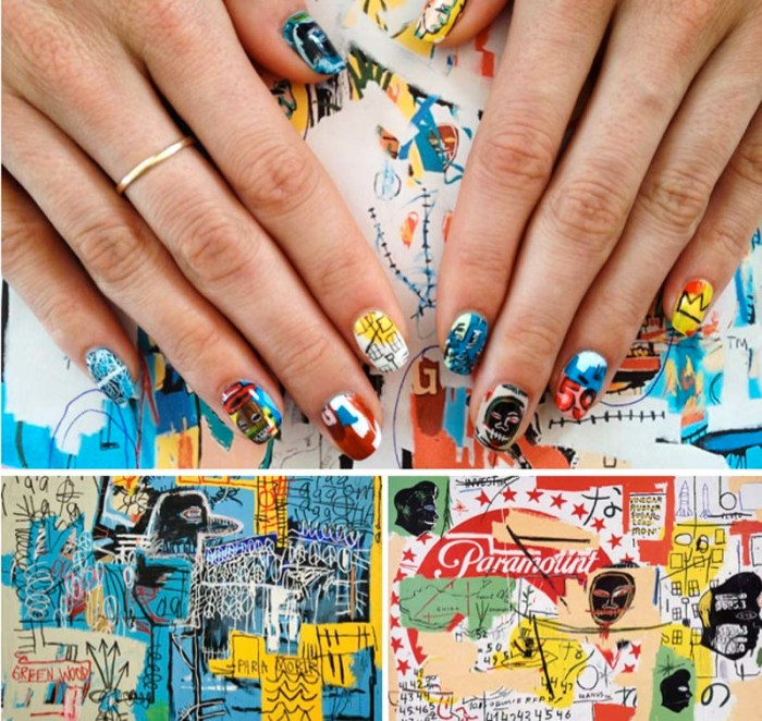 Nail Art, Art History, Jean-Michel Basquiat, Susi Kenna