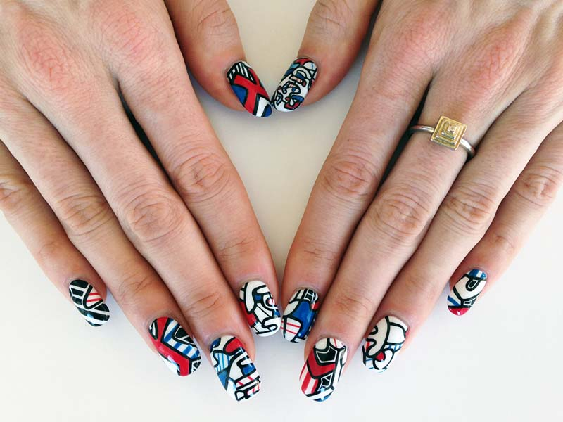 Nails Art: Susi Kenna: Nail Art History
