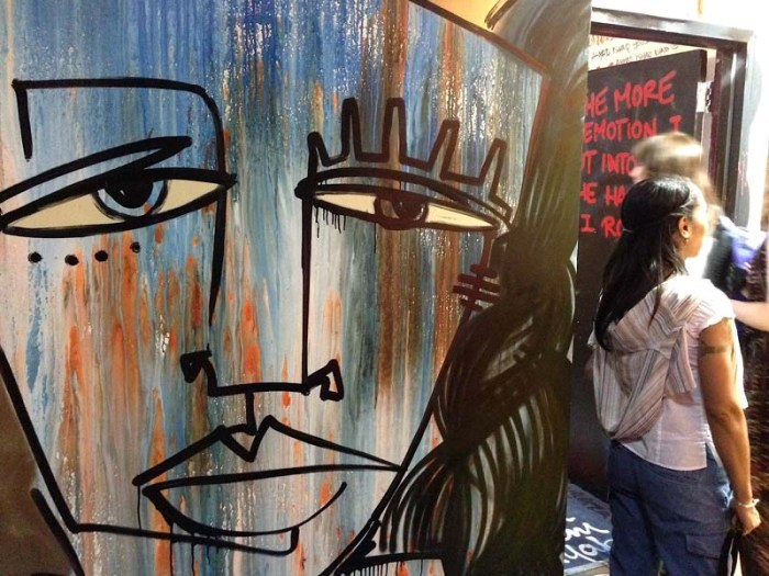 21st Precinct NYC, Graffiti, Street art exhibit, Outlaw Arts, Alice Mizrachi, NYC art exhibit in an abandoned police station building